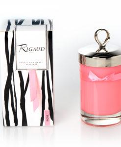 Bougie Parfumée Rigaud Grand Modèle ROSE