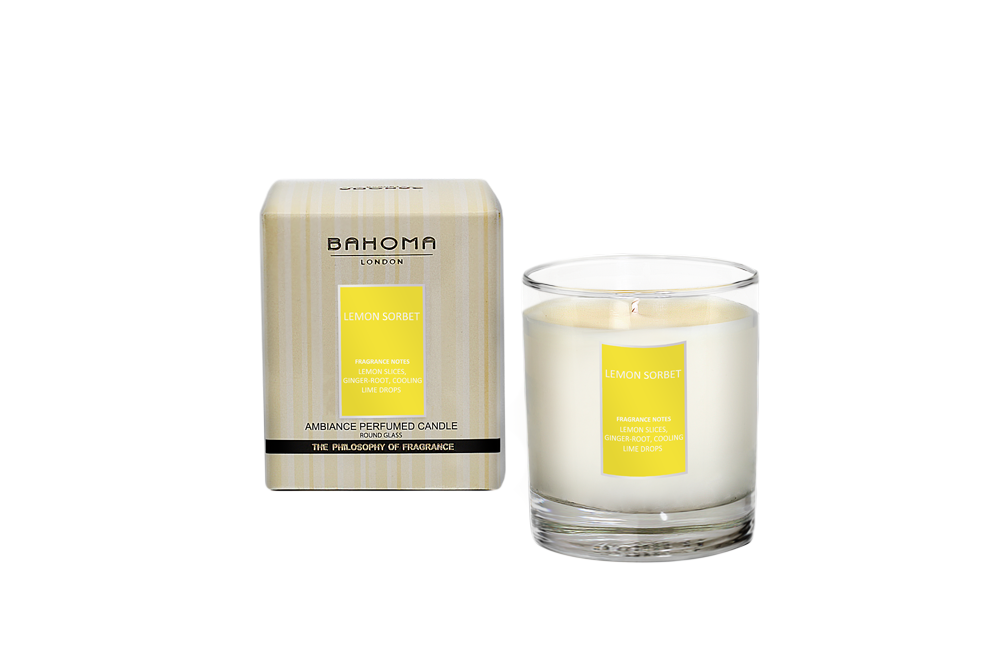 Bougie Parfumée Bahoma Citron