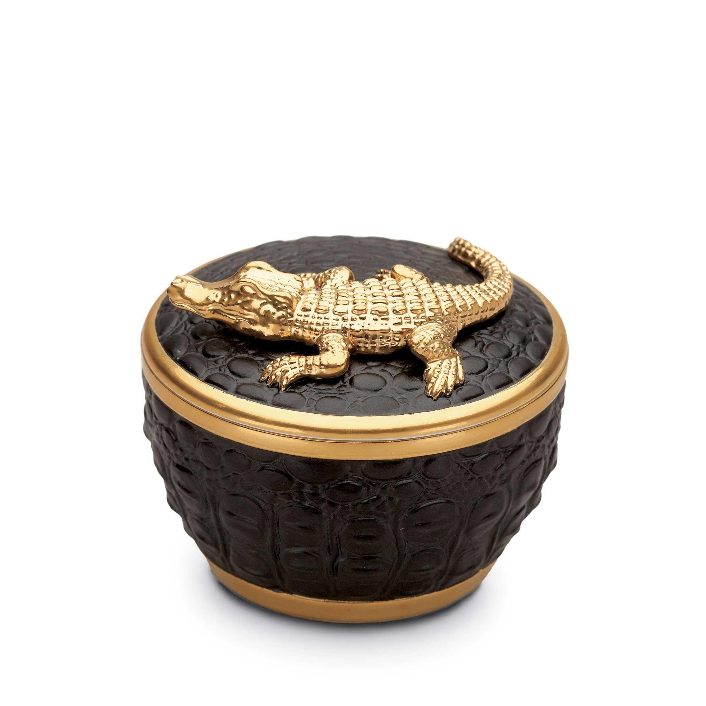 la bougie parfum e crocodile de l 39 objet chez scandles. Black Bedroom Furniture Sets. Home Design Ideas